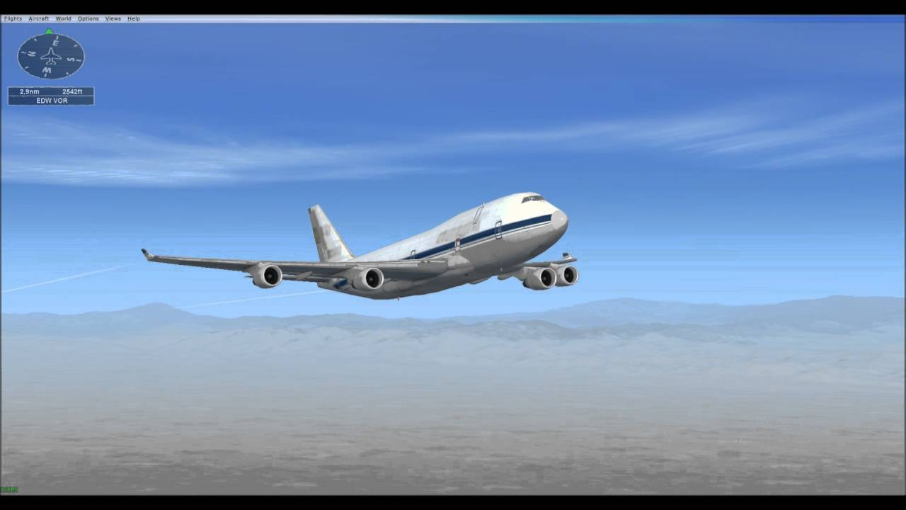 FSX Mission - 747 Test Flight