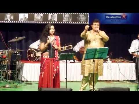 Aaja Sanam Madhur Chandni Mein Hum - Anupama Roy and Shurjo Bhattacharya
