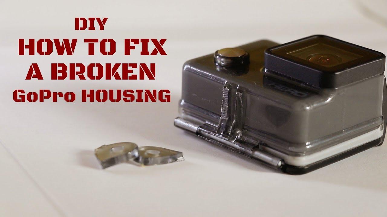 DIY | Fixing A Broken GoPro Housing | GoPro HERO