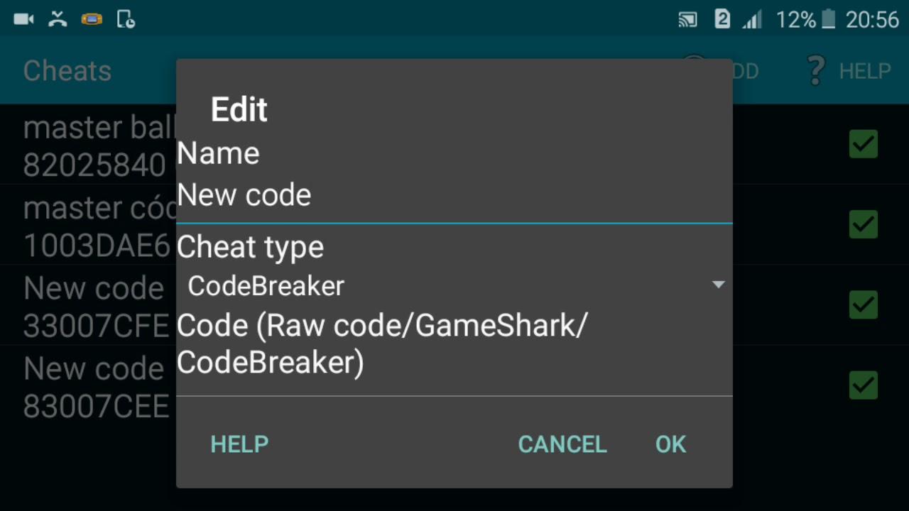 pokemon ash gray cheats codebreaker