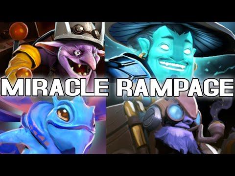 ទស្សនាវីដេអូបង្ហាញពី Rampage របស់ Miracle ដែលជា Player មាន MMR ខ្ពស់ជាងគេក្នុង Dota 2