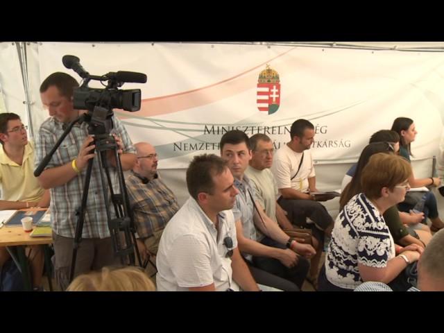 Csóti György: Teljes körű és tényleges autonómiára van szüksége a külhoni magyarságnak