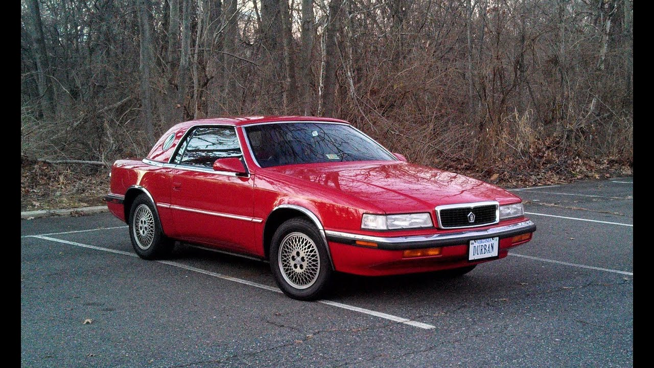 Chrysler tc maserati