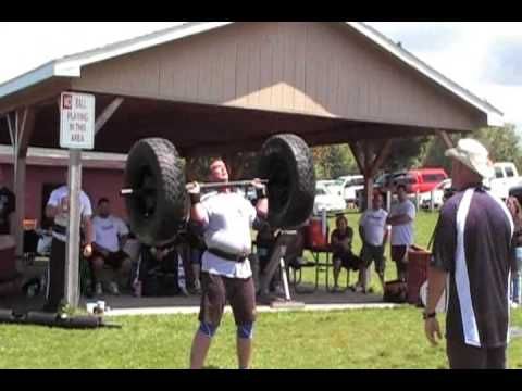 John Cottrell - WNY's Strongest Man contest 2009