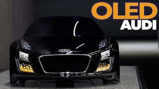Audi OLED | Audi Future LAB - Lighting Tech and Design