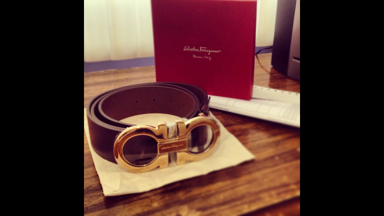 Red Ferragamo Belt Replica
