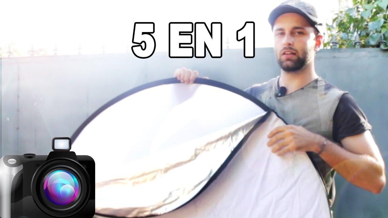 Reflector Y Difusor Para Iluminar Con Luz Natural O Artificial Tutorial Fotografía En Español Youtube