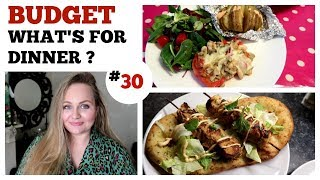 WHAT'S FOR DINNER ? #30 / CHEAP BUDGET FAMILY MEAL IDEAS / Large family Meals of the week