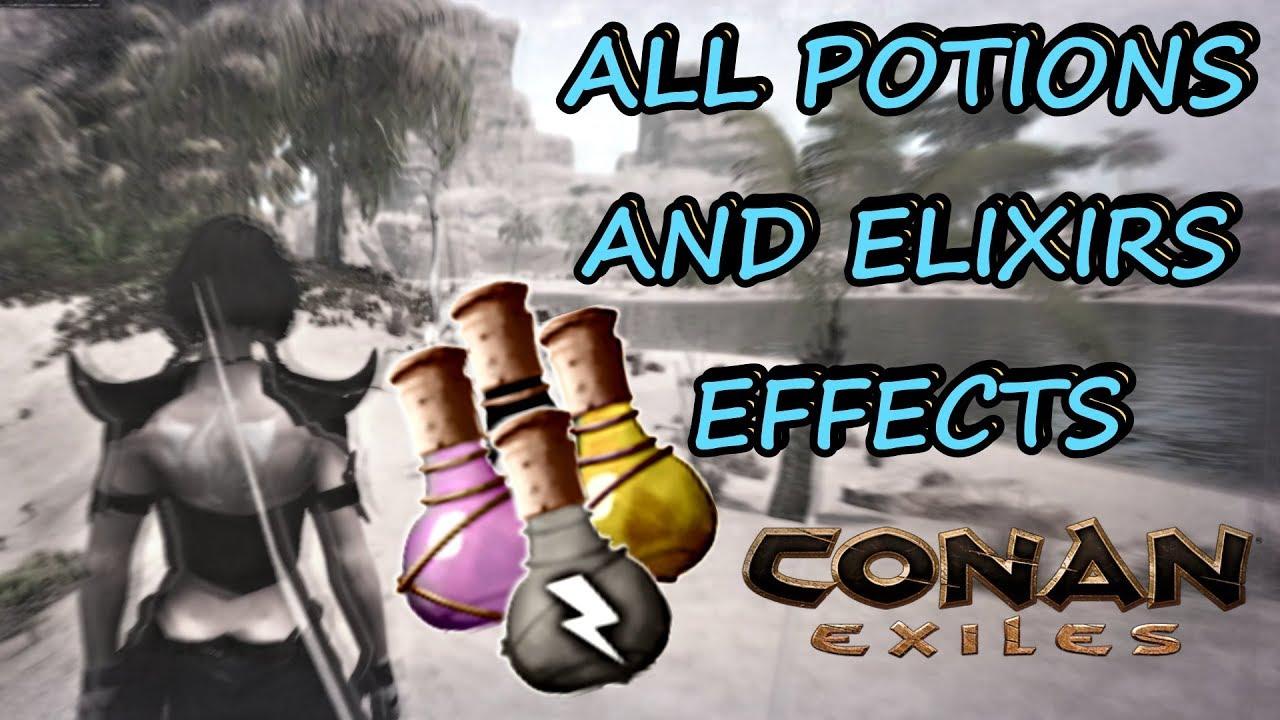 conan exiles black lotus potion