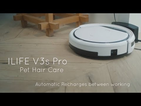 ILIFE V3s Pro Robot Vacuum Cleaner    (Link in Description)