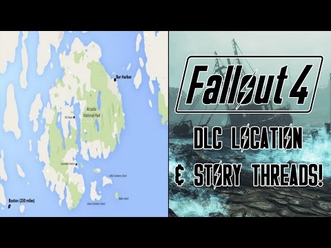 FALLOUT 4: Far Harbor Real Life Map Comparison & Story Thread Speculation!