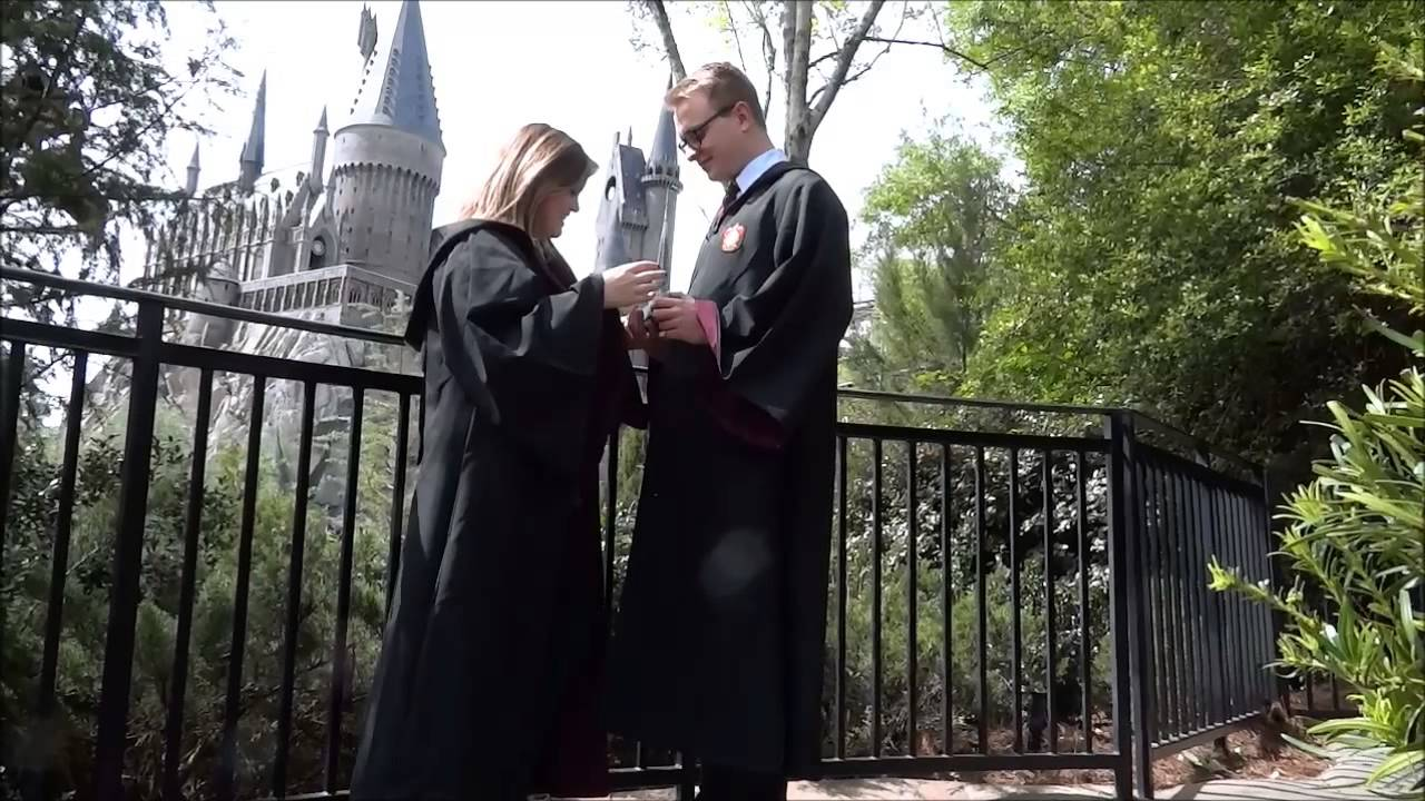 Harry Potter And The Magical Proposal