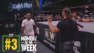Did the Special Enforcer Mike Tyson Have to Get His Hands Dirty? | AEW Dynamite, 4/14/21