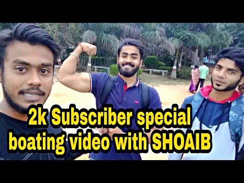 2000 Subscriber special video  boating with BRS  vikash vlogs Bangalore lake  Madiwala lake