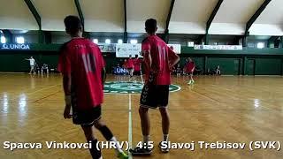 Handball. U17 boys. Sarius cup 2017. Spaсva Vinkovci (HRV) - Slavoj Trebisov (SVK) - 4:8 (1st half)