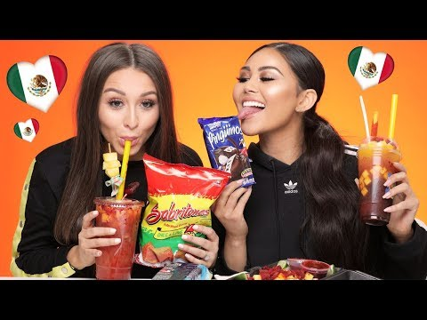TRYING MEXICAN SNACKS | Roxette Arisa