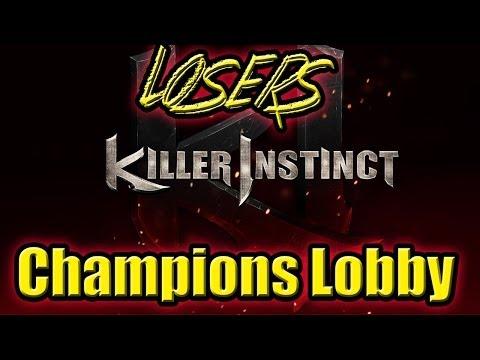 Killer Instinct Champion's Lobby Losers Final