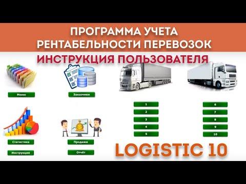 Учет, анализ, планирование расходов на перевозки автотранспортом - инструкция к программе Logistic10