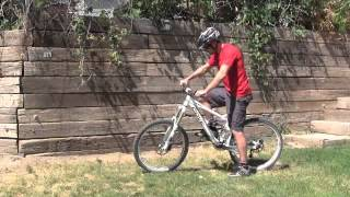 Trackstands for Mountain Biking