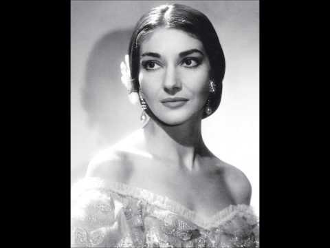 Maria Callas -Verdi- La traviata -Ah, fors` è lui
