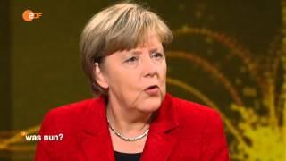 Angela Merkel zur Flüchtlingskrise: Was nun, Frau Merkel - ZDF am 13.11.2015