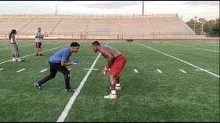 FIRST TIME ON THE FIELD IN 2 YEARS 1on1s W/ NFL FIRST ROUND DRAFT PICK JOSH JACOBS
