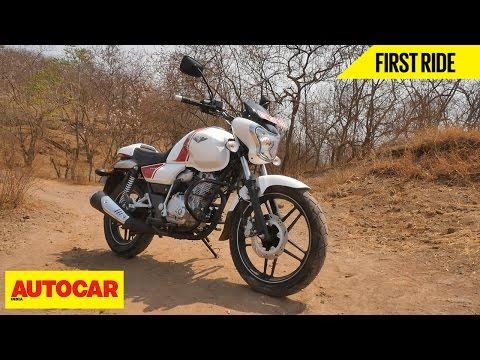 Bajaj V15 | First Ride | Autocar India