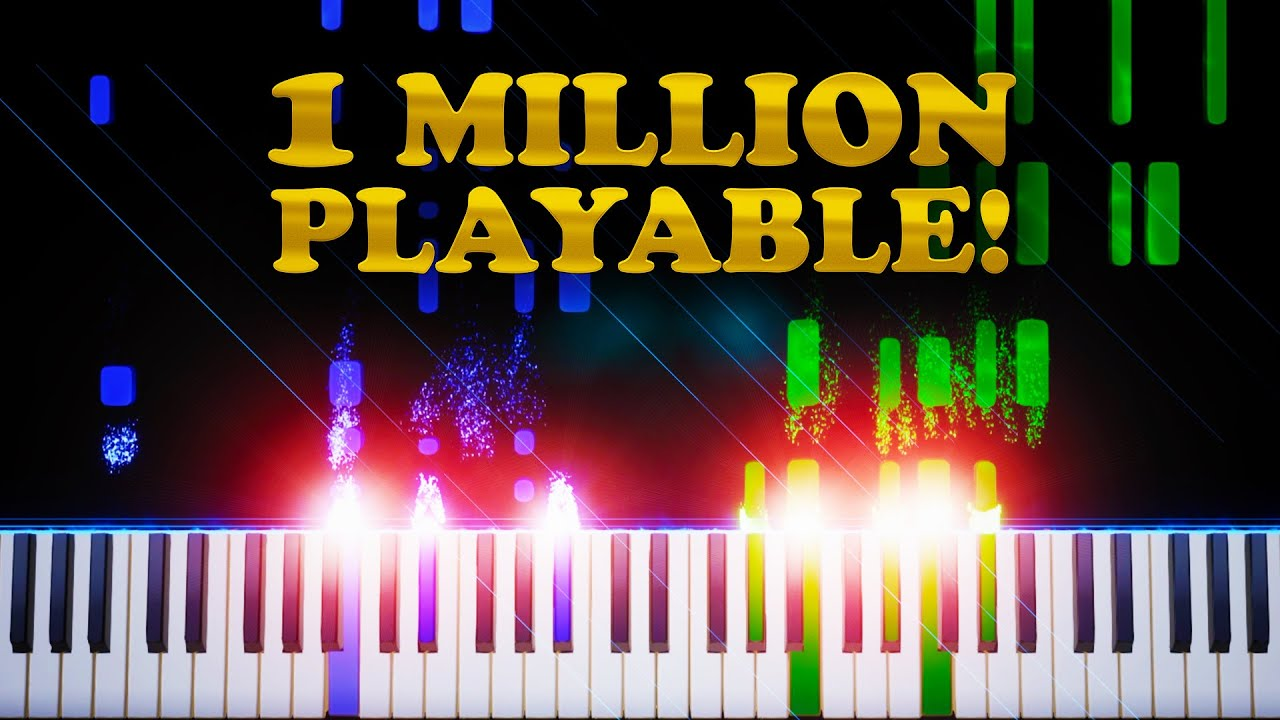 Download 1 Million Sub Special (Playable) - Piano Tutorial