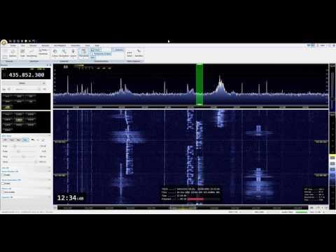 GK4ELI on Satellite FO-29, Sept. 28th, 2016 - Europe Pass
