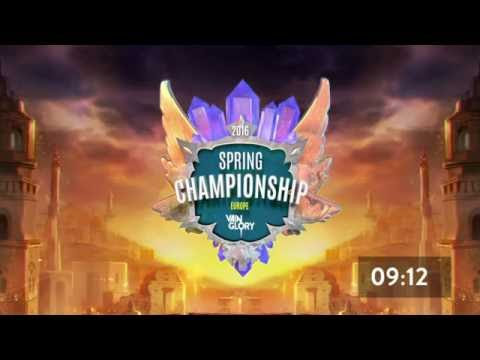 Day 3 Spring Live Championships - Europe
