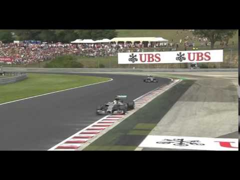 "F1 2014 Hungary GP -  Lewis Hamilton & Nico Rosberg Team Radio ""I'm not letting Nico through"""