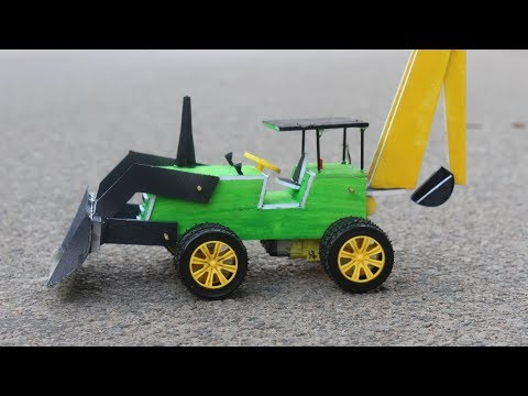 How To Make a JCB at home