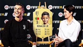 FAMOUS FOOTBALL PLAYERS KIDS FIRST EVER FIFA CARDS!!