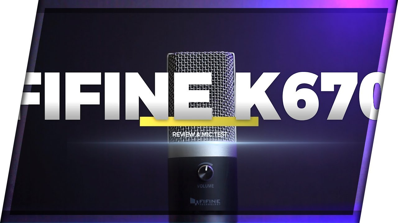 Best Budget YouTube Microphone! | Fifine K670 REVIEW+SOUND TEST