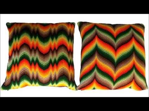 Вышивка в технике барджелло