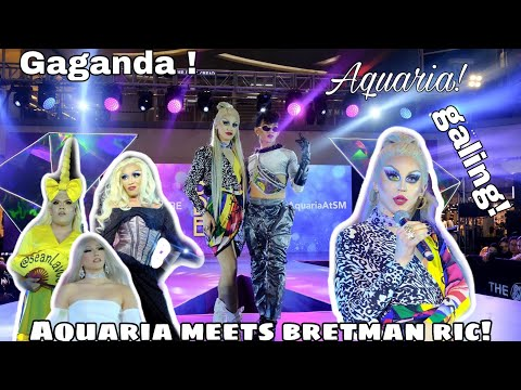 AQUARIA MEET'S BRETMAN RIC (aquaria finally made it to the philippines at ang ganda ng mga draqueen) thumbnail