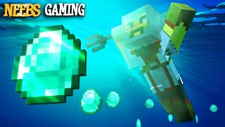 Getting a TRIDENT and MORE Diamonds! - Minecraft