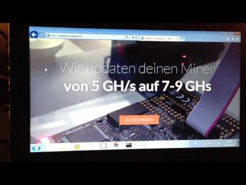 Butterfly Labs Jalapeno ASIC Bitcoin Miner 5 GH Update Auf 7-8 GH