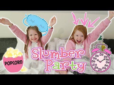GIRLS CINEMA ROOM SLUMBER PARTY!