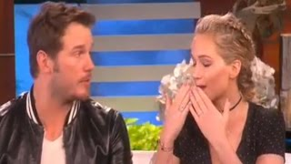 Jennifer Lawrence & Chris Pratt interviews on Ellen - November 11th, 2016
