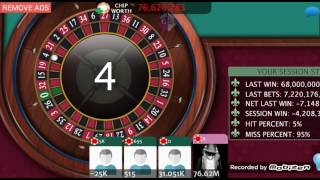 Roulette Royale - FREE Casino (CHIPS HACK by Game Guardian {ROOT}) screenshot 3