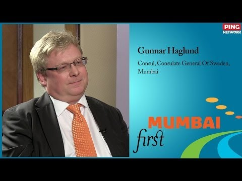 Gunnar Haglund, Consul, Consulate General Of Sweden, Mumbai