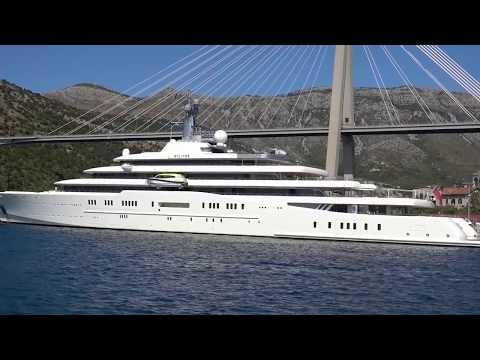 Eclipse - Motor Yacht - Roman Abramovich - Dubrovnik - September 2017
