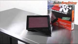 K&N Air Filter Review: AutoAnything Product Demo