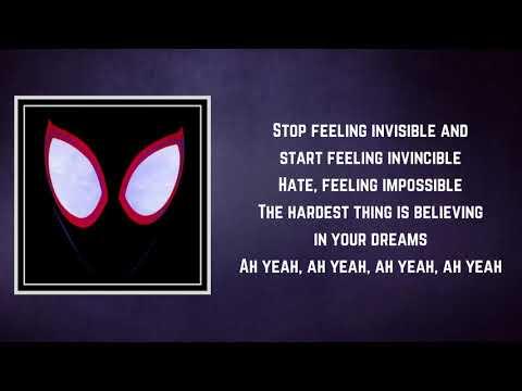 Amine - Invincible (Lyrics)