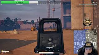 PUBG - Lucky escape despite awful shooting...