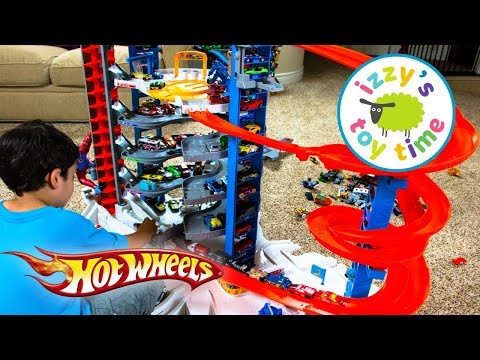 Thumbnail: Cars for Kids | Hot Wheels Super Ultimate Garage Playset | Fun Toy Cars for Kids Pretend Play