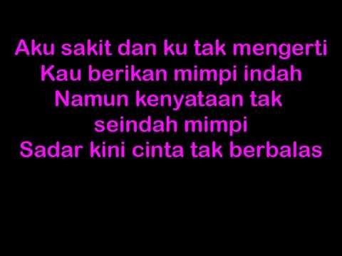 Lirik Lagu Yovie n Nuno - Sakit Hati | koleksi lirik lagu indo