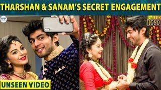 Tharshan and Sanam Shetty's Unseen Engagement Video | Bigg Boss 3 | Vijay Tv | LittleTalks