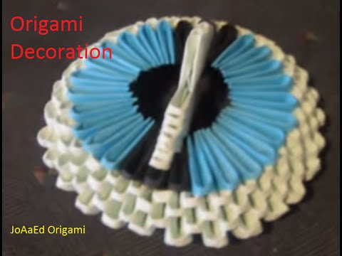 3D Origami Decoration Tutorial